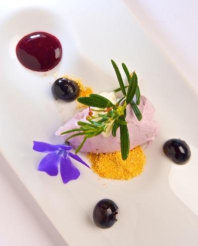 Deconstructed Lavender Cheesecake Mirbeau Inn & Spa ...